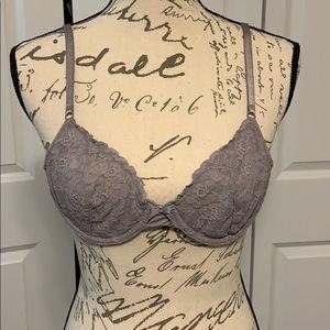 Victoria's Secret unlined Demi bra purple